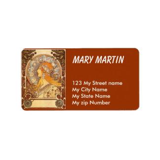 Best vintage Address Label, Label