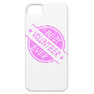 Best Volunteer Ever Pink Barely There iPhone 5 Case