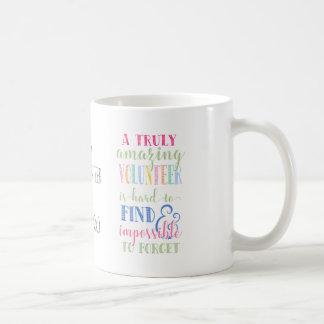Best volunteer, volunteer mug, gift, thank you coffee mug