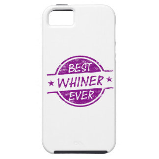 Best Whiner Ever Purple iPhone 5 Case