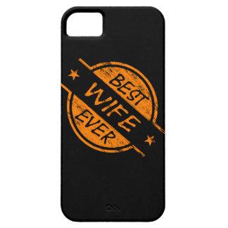 Best Wife Ever Orange iPhone 5/5S Case