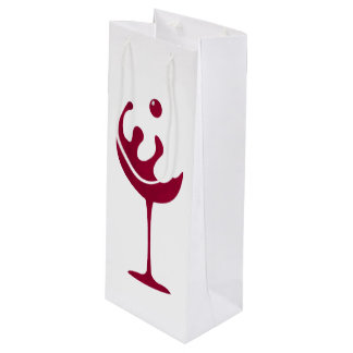 Best wine red glass of wine gift bag