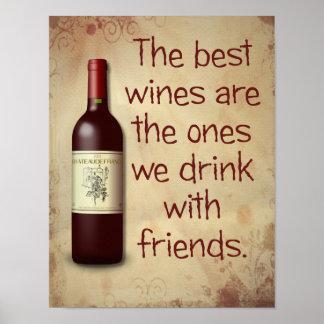 Best Wines -- Art Print