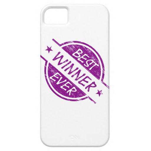 Best Winner Ever Purple iPhone 5/5S Case