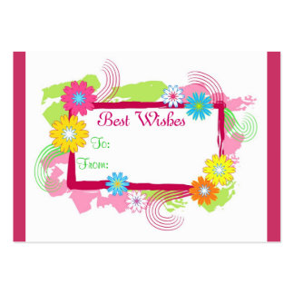 Best Wishes - Card Pack Of Chubby Business Cards