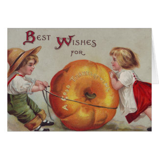 Best Wishes for a Good Thanksgiving Greeting Card