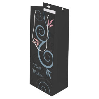 Best Wishes Gift Bag Wine Gift Bag
