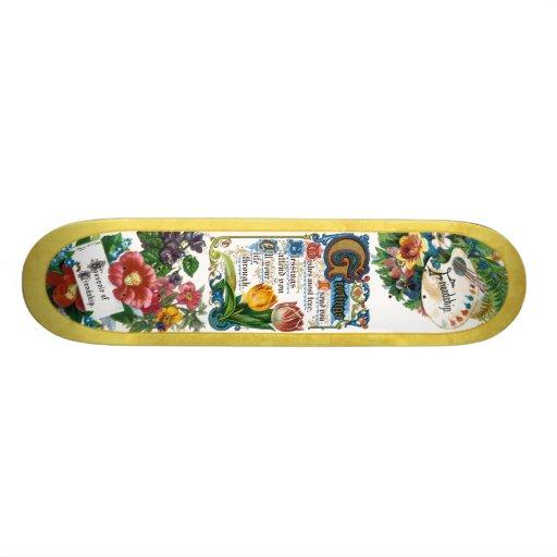 Best Wishes Skate Board Deck