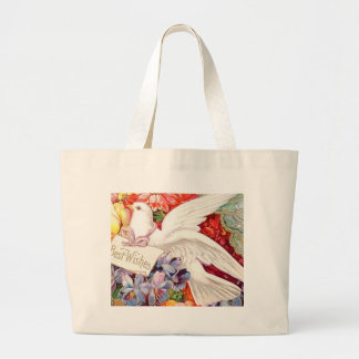 Best Wishes Victorian Dove Wedding Birthday Bags