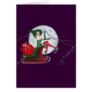 Best Witches Christmas card