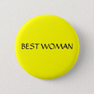 BEST WOMAN - button