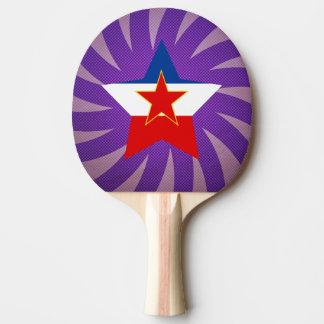 Best Yugoslavia Flag Design Ping Pong Paddle