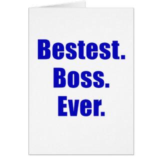 Bestest Boss Ever Cards