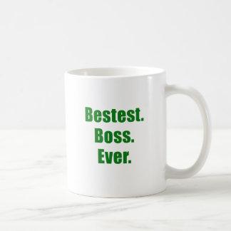 Bestest Boss Ever Mugs