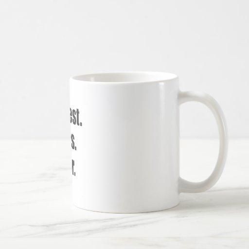 Bestest Boss Ever Coffee Mugs