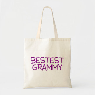 Bestest Grammy Purple Tote Bag