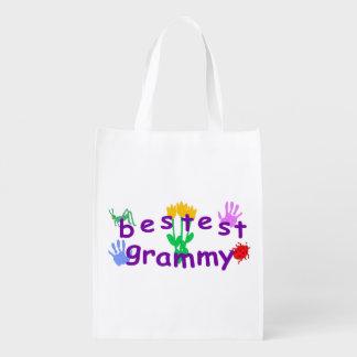 Bestest Grammy Reusable Grocery Bags