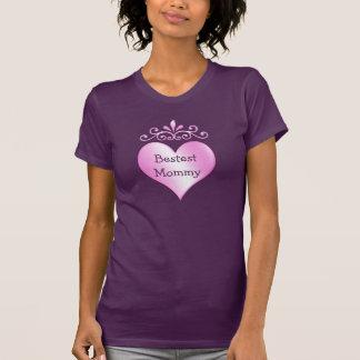 Bestest Mommy Pretty Shirts for Women