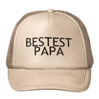 Bestest Papa Hats