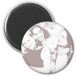 BestFriends 6 Cm Round Magnet