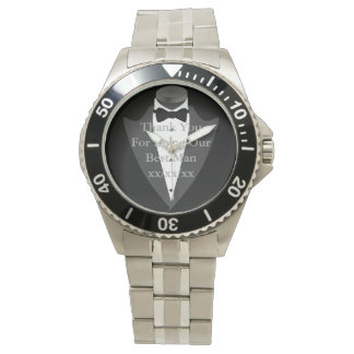 BESTMAN Gift Personalized Watch Father Bride Groom