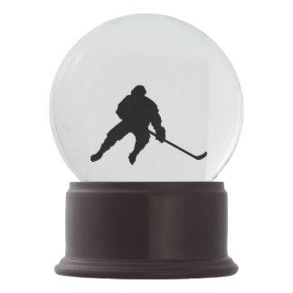 Bestseller Christmas Xmas hockey player snow globe