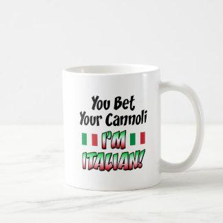 Bet Your Cannoli I'm Italian Coffee Mug