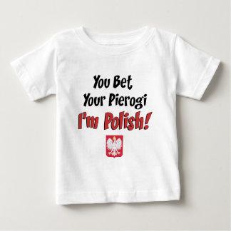 Bet Your Pierogi Polish Baby T-Shirt