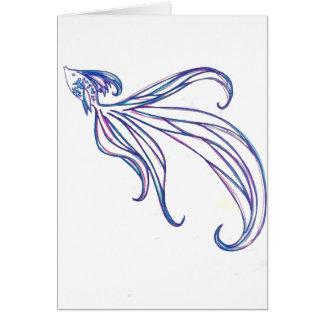 Beta Fish Card