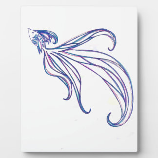 Beta Fish Plaque