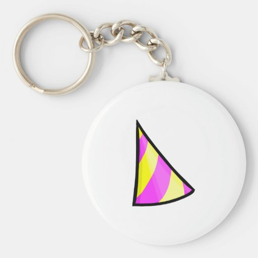Beta Hat Key Chain
