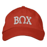 Beta Omega Chi Adjustable Embroidered Hat