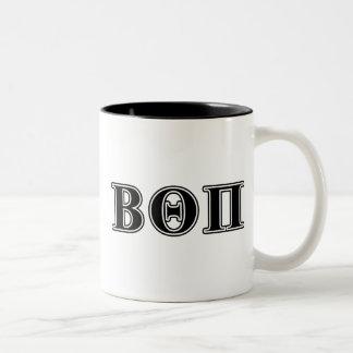 Beta Theta Pi Black Letters Mugs
