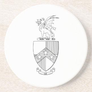 Beta Theta Pi Coat of Arms Coaster