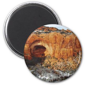 Betatakin At Navajo National Monument 6 Cm Round Magnet