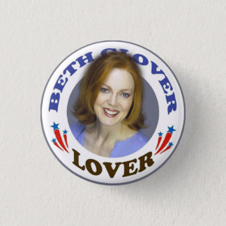 Beth Glover Lover Button