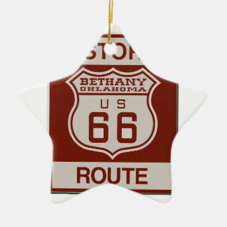 bethany66 ceramic ornament