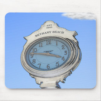 Bethany Clock Mousepad