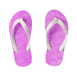 Bethany Girls Name Logo Kid's Thongs