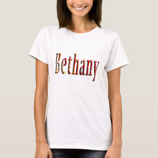 Bethany Girls Name Logo T-Shirt