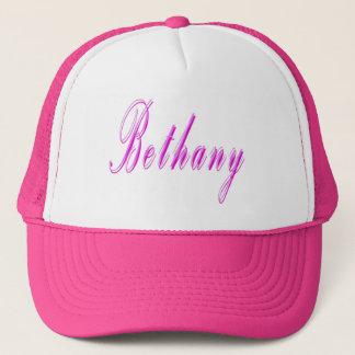 Bethany Girls Name Logo Trucker Hat