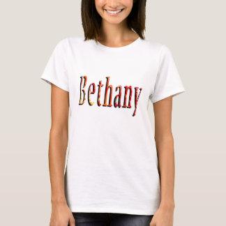 Bethany, Name, Logo, Ladies White T-shirt