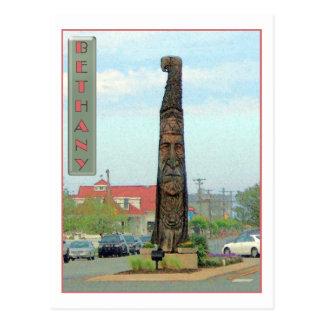 Bethany Totem Pole Postcard