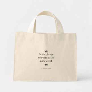 BeTheChange Mini Tote Bag