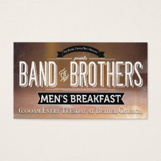 Bethel Church Band of Brothers Breakfast Business Card