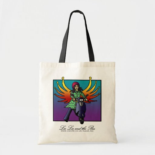 Bethel The Biker Fairy, shopping bag