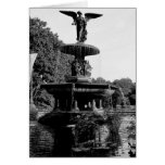 Bethesda Fountain in Central Park Photo Greeting Cards