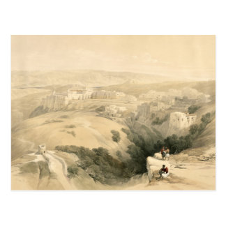 Bethlehem, April 6th 1839, plate 85 from Volume II Postcard