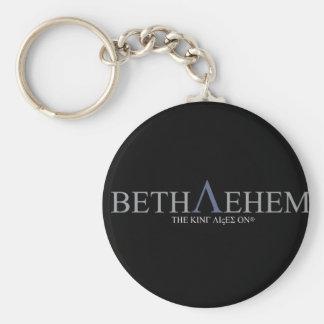 Bethlehem Blue Logo Key Ring