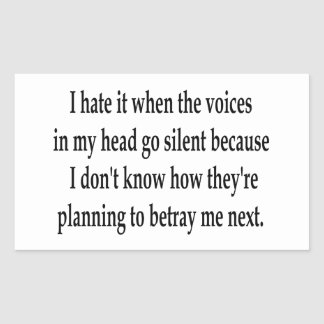 Betraying Voices Stickers